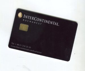 intercontinental hotel card