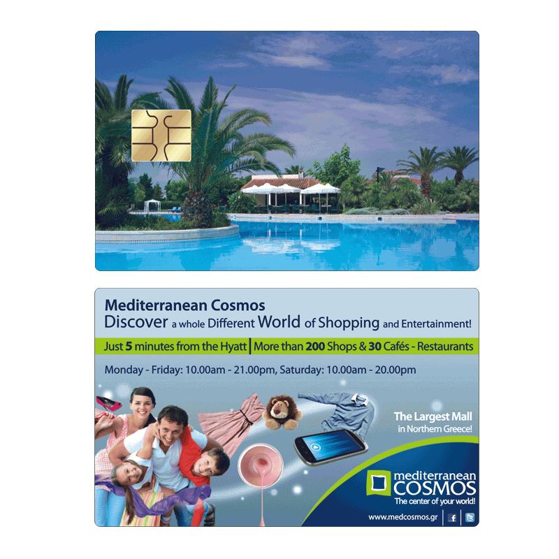 Mediterranean Cosmos Shopping Mall Hyatt Card