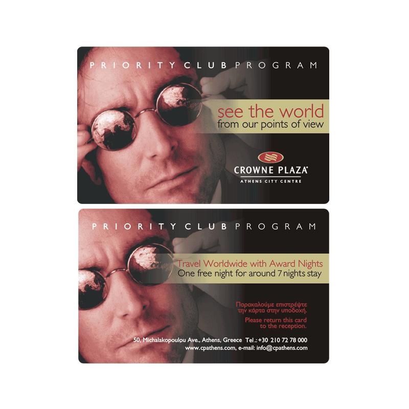 Crowne Plaza Athens City Centre Card