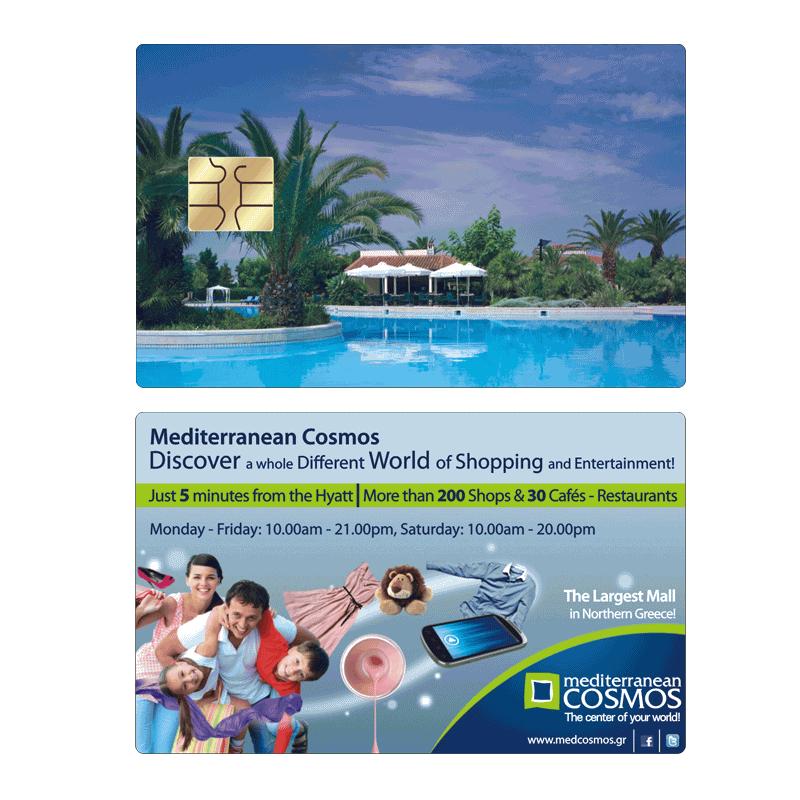 Mediterranean Cosmos Shopping Mall Hyatt Card
