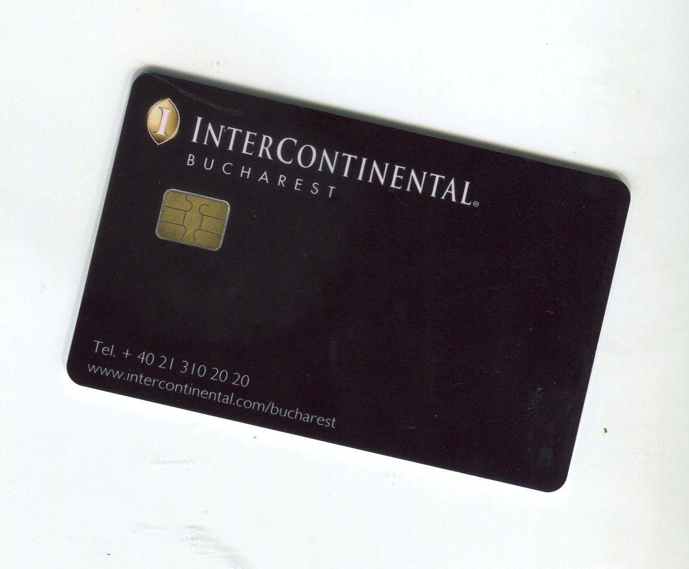 intercontinental hotel card