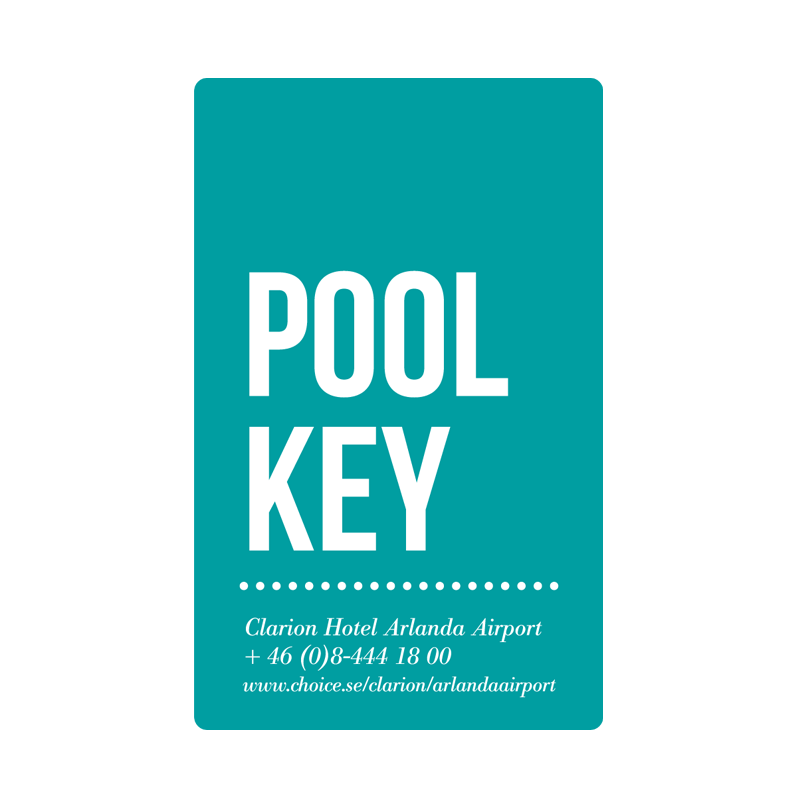 Clarion Hotel Arlanda Airport Card