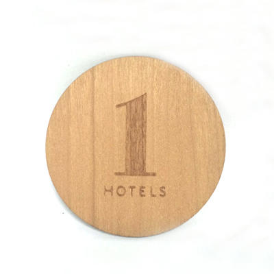 wood hotel cards